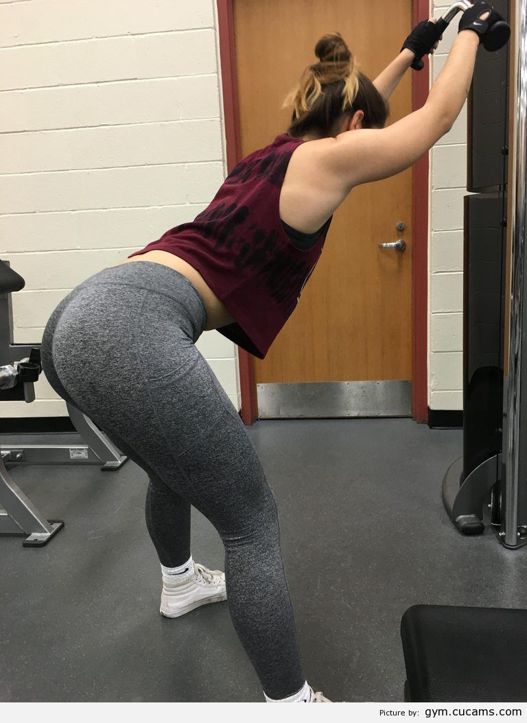 GYM Wet Gagging by gym.cucams.com